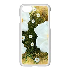 Summer Anemone Sylvestris Apple Iphone 7 Seamless Case (white)