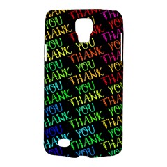 Thank You Font Colorful Word Color Galaxy S4 Active by Celenk