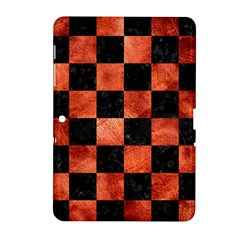 Square1 Black Marble & Copper Paint Samsung Galaxy Tab 2 (10 1 ) P5100 Hardshell Case