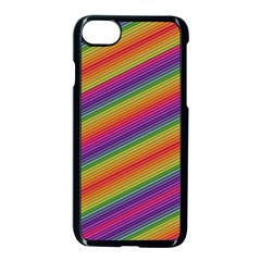 Spectrum Psychedelic Green Apple Iphone 8 Seamless Case (black)