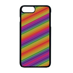 Spectrum Psychedelic Green Apple Iphone 8 Plus Seamless Case (black)