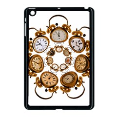 Time Clock Alarm Clock Time Of Apple Ipad Mini Case (black) by Celenk