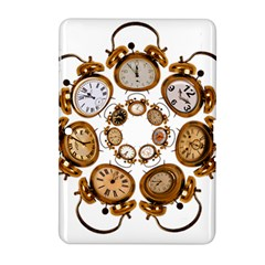 Time Clock Alarm Clock Time Of Samsung Galaxy Tab 2 (10 1 ) P5100 Hardshell Case  by Celenk