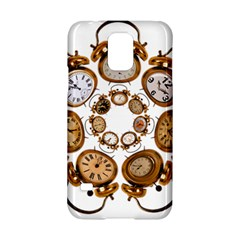 Time Clock Alarm Clock Time Of Samsung Galaxy S5 Hardshell Case  by Celenk