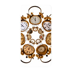 Time Clock Alarm Clock Time Of Samsung Galaxy Alpha Hardshell Back Case by Celenk