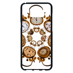 Time Clock Alarm Clock Time Of Samsung Galaxy S8 Plus Black Seamless Case by Celenk