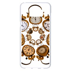 Time Clock Alarm Clock Time Of Samsung Galaxy S8 Plus White Seamless Case by Celenk