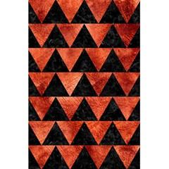Triangle2 Black Marble & Copper Paint 5 5  X 8 5  Notebooks by trendistuff