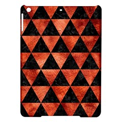 Triangle3 Black Marble & Copper Paint Ipad Air Hardshell Cases by trendistuff