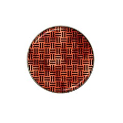 Woven1 Black Marble & Copper Paint Hat Clip Ball Marker (4 Pack) by trendistuff