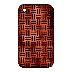 Woven1 Black Marble & Copper Paint Iphone 3s/3gs