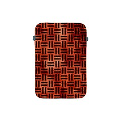 Woven1 Black Marble & Copper Paint Apple Ipad Mini Protective Soft Cases by trendistuff