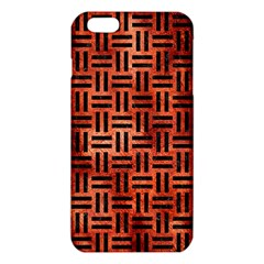 Woven1 Black Marble & Copper Paint Iphone 6 Plus/6s Plus Tpu Case by trendistuff