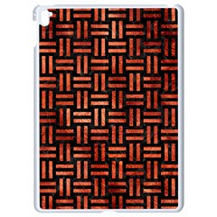 Woven1 Black Marble & Copper Paint (r) Apple Ipad Pro 9 7   White Seamless Case by trendistuff
