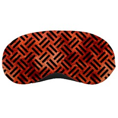 Woven2 Black Marble & Copper Paint Sleeping Masks by trendistuff