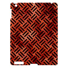 Woven2 Black Marble & Copper Paint Apple Ipad 3/4 Hardshell Case by trendistuff