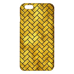 Brick2 Black Marble & Gold Paint Iphone 6 Plus/6s Plus Tpu Case by trendistuff
