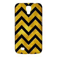 Chevron9 Black Marble & Gold Paint Samsung Galaxy Mega 6 3  I9200 Hardshell Case by trendistuff