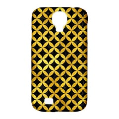 Circles3 Black Marble & Gold Paint (r) Samsung Galaxy S4 Classic Hardshell Case (pc+silicone) by trendistuff