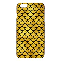 Scales1 Black Marble & Gold Paint Iphone 6 Plus/6s Plus Tpu Case by trendistuff
