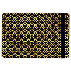 Scales2 Black Marble & Gold Paint (r) Ipad Air 2 Flip by trendistuff