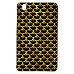 Scales3 Black Marble & Gold Paint (r) Samsung Galaxy Tab Pro 8 4 Hardshell Case by trendistuff