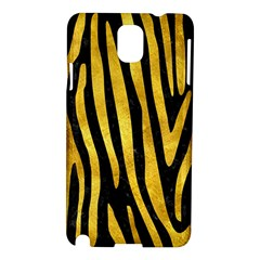 Skin4 Black Marble & Gold Paint Samsung Galaxy Note 3 N9005 Hardshell Case by trendistuff