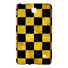 Square1 Black Marble & Gold Paint Samsung Galaxy Tab 4 (8 ) Hardshell Case  by trendistuff