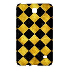 Square2 Black Marble & Gold Paint Samsung Galaxy Tab 4 (8 ) Hardshell Case  by trendistuff