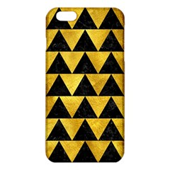 Triangle2 Black Marble & Gold Paint Iphone 6 Plus/6s Plus Tpu Case by trendistuff
