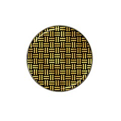 Woven1 Black Marble & Gold Paint (r) Hat Clip Ball Marker (4 Pack) by trendistuff