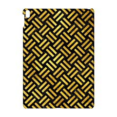 Woven2 Black Marble & Gold Paint (r) Apple Ipad Pro 10 5   Hardshell Case by trendistuff