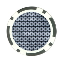 Brick1 Black Marble & Silver Paint Poker Chip Card Guard (10 Pack) by trendistuff