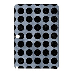 Circles1 Black Marble & Silver Paint Samsung Galaxy Tab Pro 12 2 Hardshell Case by trendistuff