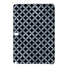 Circles3 Black Marble & Silver Paint (r) Samsung Galaxy Tab Pro 12 2 Hardshell Case by trendistuff