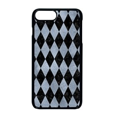 Diamond1 Black Marble & Silver Paint Apple Iphone 8 Plus Seamless Case (black) by trendistuff