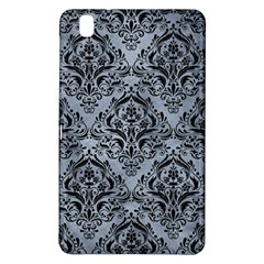 Damask1 Black Marble & Silver Paint Samsung Galaxy Tab Pro 8 4 Hardshell Case by trendistuff