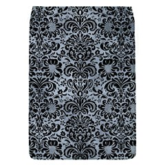Damask2 Black Marble & Silver Paint Flap Covers (s)  by trendistuff