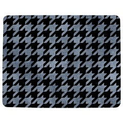 Houndstooth1 Black Marble & Silver Paint Jigsaw Puzzle Photo Stand (rectangular) by trendistuff