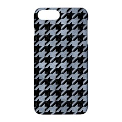 Houndstooth1 Black Marble & Silver Paint Apple Iphone 8 Plus Hardshell Case by trendistuff