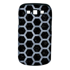 Hexagon2 Black Marble & Silver Paint (r) Samsung Galaxy S Iii Classic Hardshell Case (pc+silicone) by trendistuff