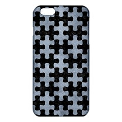 Puzzle1 Black Marble & Silver Paint Iphone 6 Plus/6s Plus Tpu Case by trendistuff