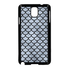 Scales1 Black Marble & Silver Paint Samsung Galaxy Note 3 Neo Hardshell Case (black) by trendistuff
