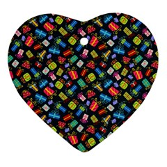 Christmas Pattern Ornament (heart) by tarastyle