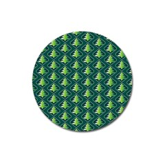 Christmas Pattern Magnet 3  (round) by tarastyle