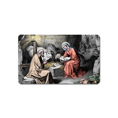 The Birth Of Christ Magnet (name Card) by Valentinaart