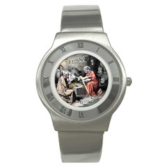 The Birth Of Christ Stainless Steel Watch