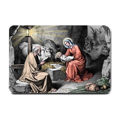 The Birth Of Christ Small Doormat
