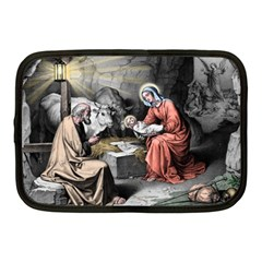 The Birth Of Christ Netbook Case (medium)  by Valentinaart