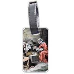 The Birth Of Christ Luggage Tags (one Side)  by Valentinaart